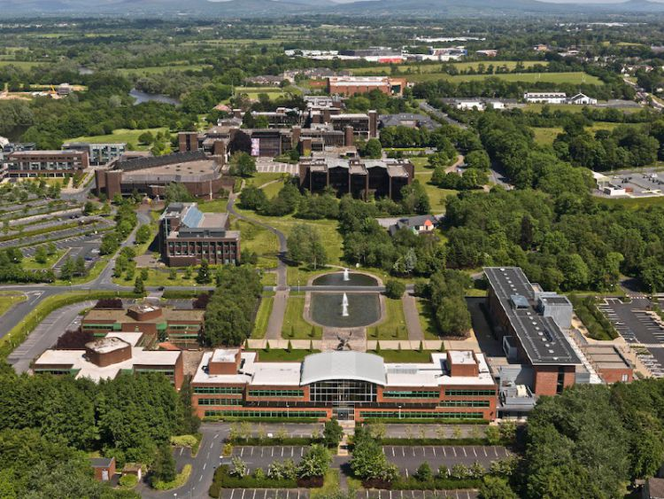 Arial view of UL